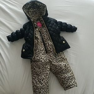 Snow bib and jacket size 12 months